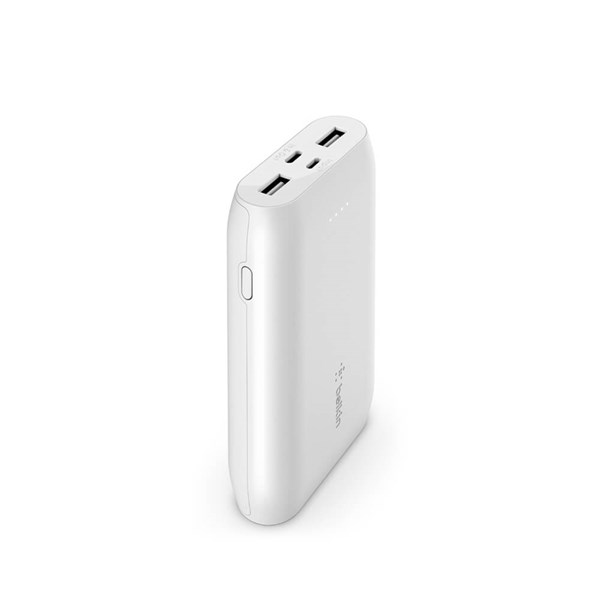 Belkin BOOSTCHARGE 10K Power Bank Mulitport - White