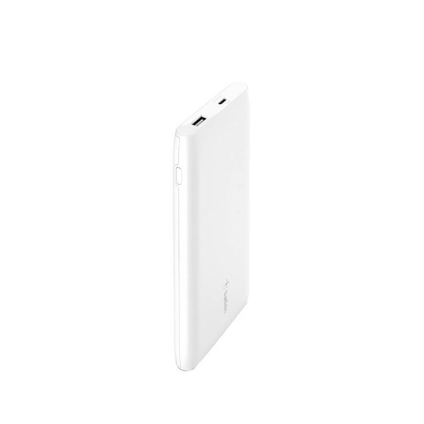Belkin Pocket Power 18W USB-C 10000 mAh Power Bank - White