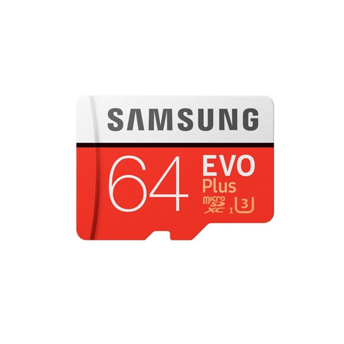 Samsung MicroSD 64GB EVO PLUS with Adapter