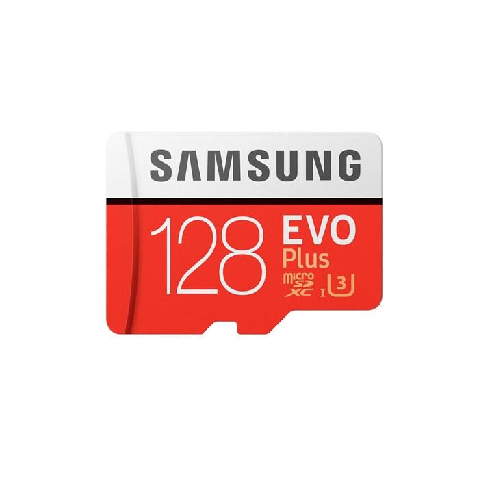 Samsung MicroSD 128GB EVO PLUS with Adapter