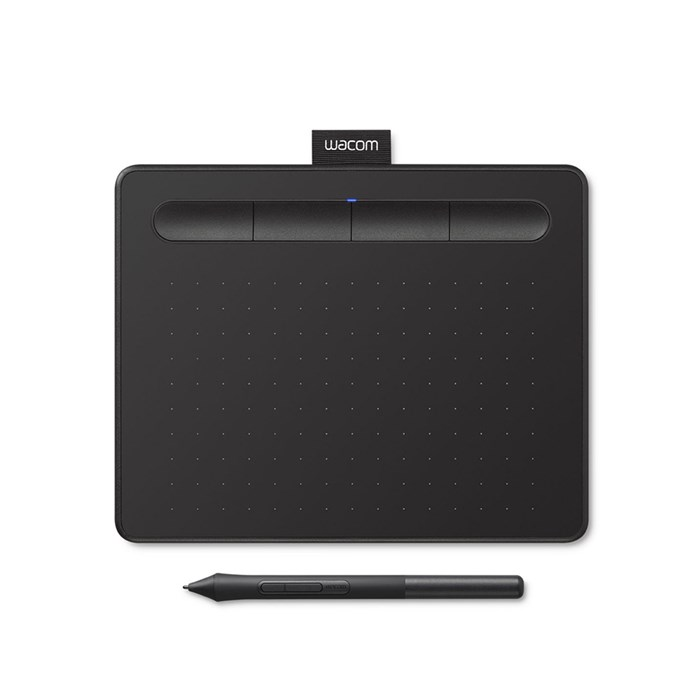 Wacom Intuos CTL-4100 Basic Pen Small Drawing Tablet - Black