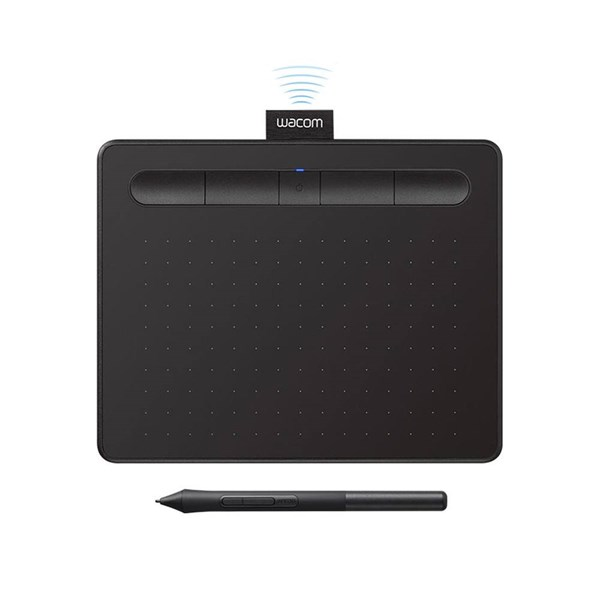 Wacom Intuos Small with Bluetooth - Black