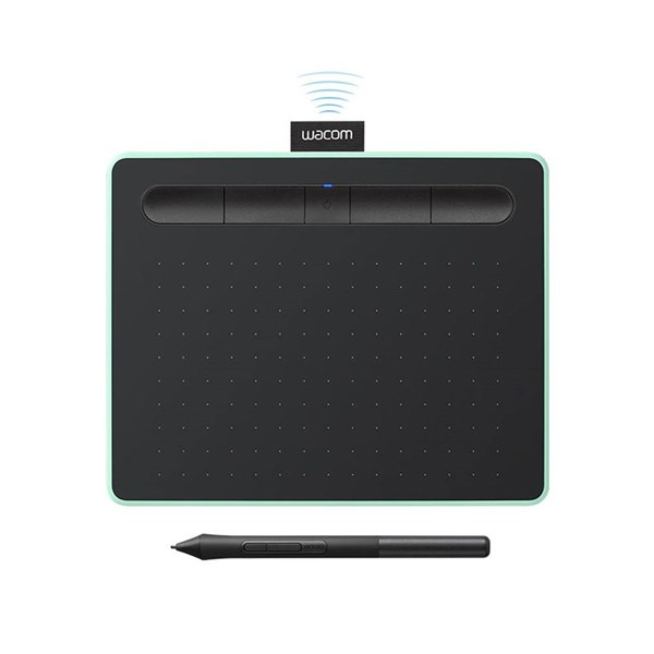 Wacom Intuos Drawing Tablet Pistachio Small with Bluetooth
