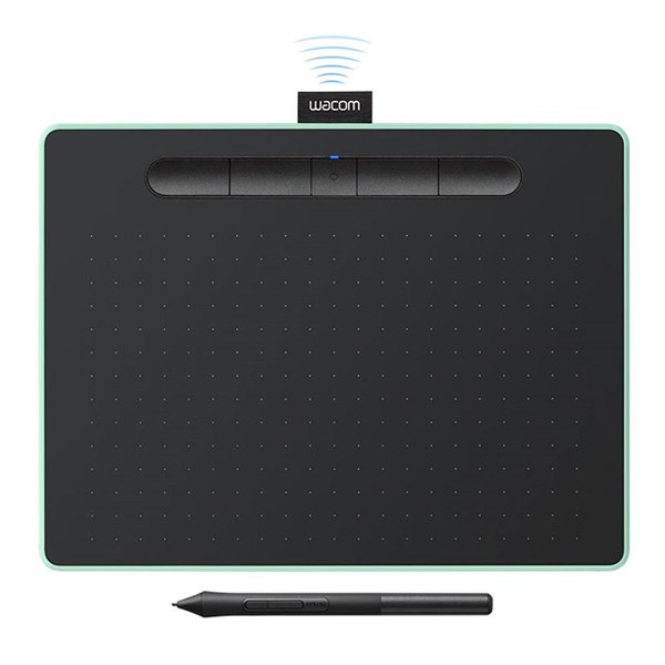 Wacom Intuos Drawing Tablet Pistachio Medium with Bluetooth