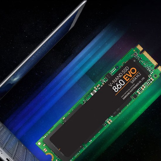 Solid State Drives - Samsung 860 EVO 250GB M 2 SSD