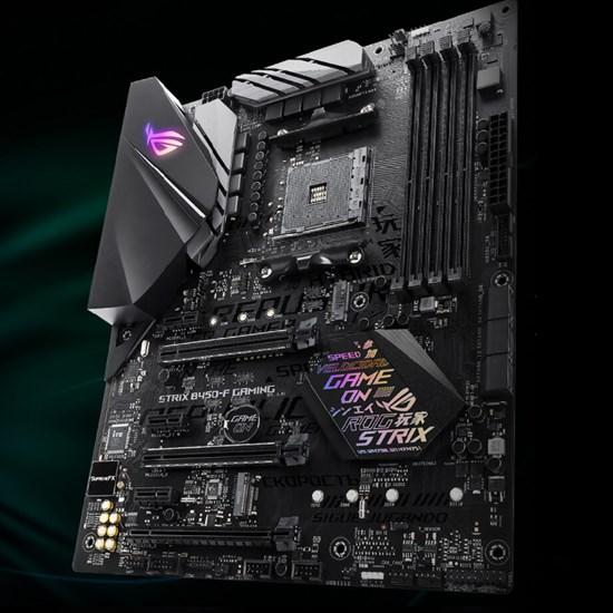 AMD - ASUS ROG STRIX B450-F Gaming Motherboard - Computer Lounge