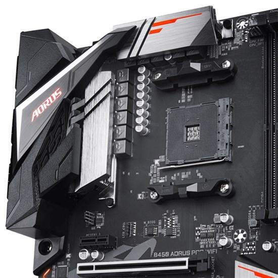 AMD - Gigabyte B450 AORUS PRO WIFI Motherboard - Computer Lounge