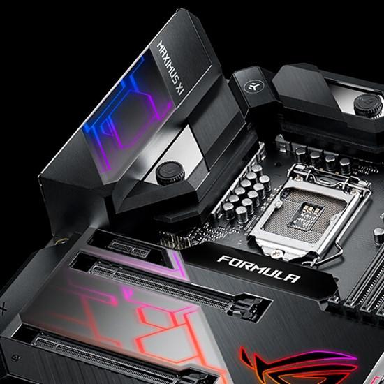 Intel - ASUS ROG MAXIMUS XI FORMULA Motherboard - Computer