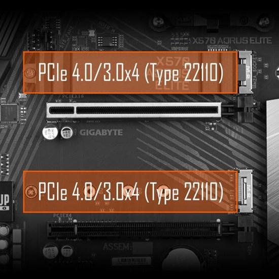 AMD - Gigabyte X570 AORUS ELITE Gaming Motherboard