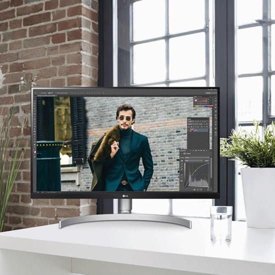 Gaming Monitors - LG 27UL650-W 27